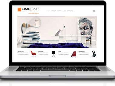 Limeline- Furniture selling website
