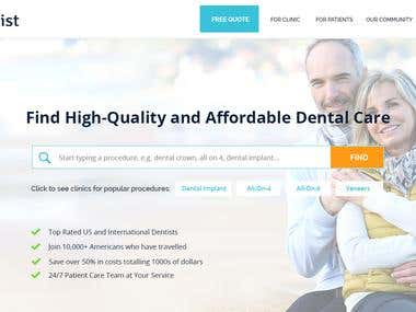 zentist.io - Find high-quality and affordable dental care
