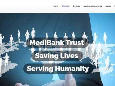 MediBank Trust Website