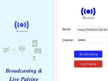 LiveBroadcaster, LivePlayer