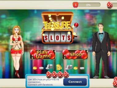 Treasure Slot Machine Game