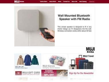 Ecommerce : MUJI.us