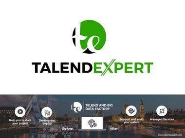 Logo and header