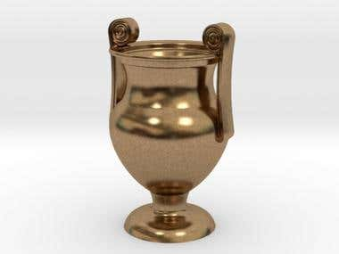 3D Design of an Ancient Krater