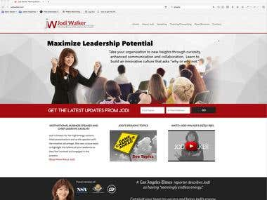 Jodi Walker Professional Motivational Speaker Site