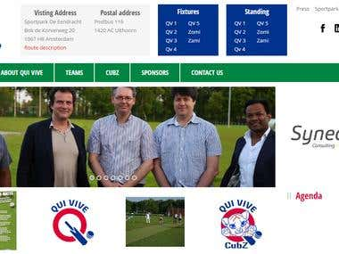 Qui Vive Cricket Club - WordPress