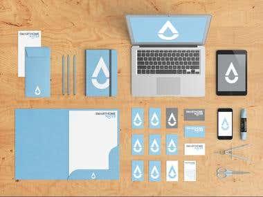 Smarthome Water Branding Design