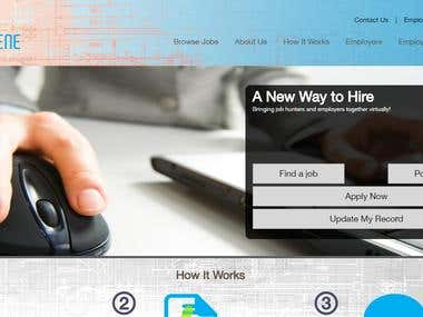 Hire Scene - Job Portal - WordPress