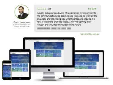 Web Development - learn.brightlaw.com.au