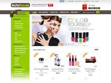 Ecommerce : iKatehouse.com