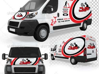 JVP Logo & Vehicle Wrap