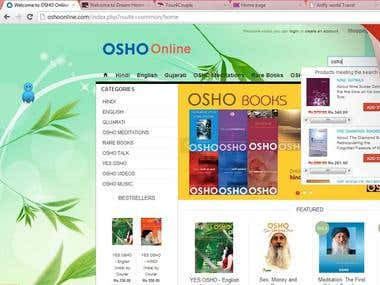 osho online book store