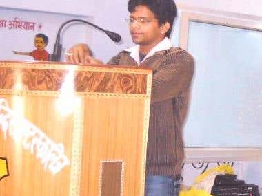 Presenting Paper in one of the seminars