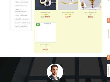 eCommerce for jewellery products