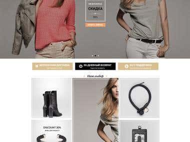 MarkUp for Internet Shop