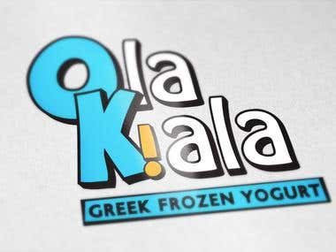 Logo | Frozen Yogurt brand