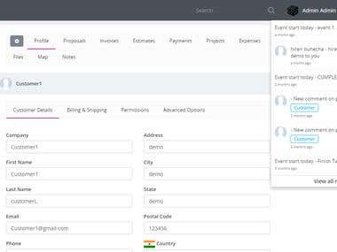 CRM - Business CRM/ERP system