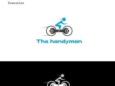 Logo Design Concept Template for HandyMan