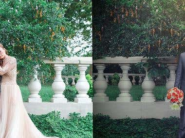 Retouching (Before & After)