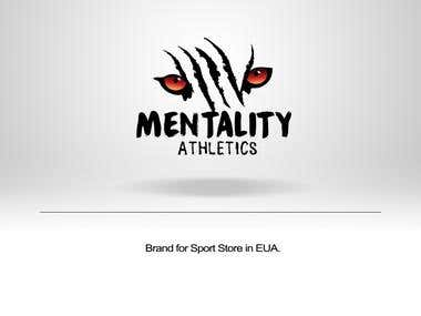 "Brand "" Mentality Athletics """