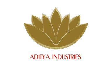 Logo Work for Aditya Industries