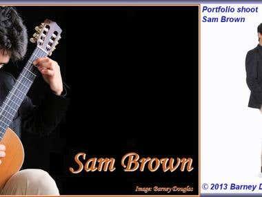 Sam Brown - classical guitarist