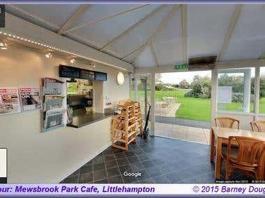 Virtual tour Mewsbrook Park Cafe