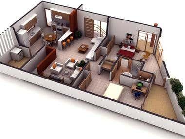 2D & 3D plans
