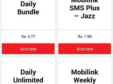 Mobilink Packages