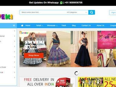 swveki.com - Online cloth selling Magento Store