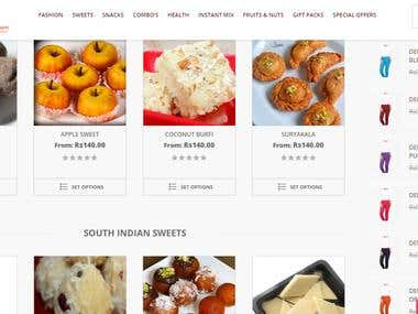Snacksbazaar.com -  Online food selling multi vendor store