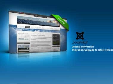 JoomlaCMS, upgrades, migration, implementation...