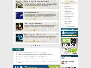 webdesign layout