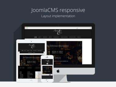 Joomla CMS - Responsive layout implementations