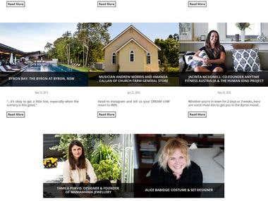 Responsive CMS Website
