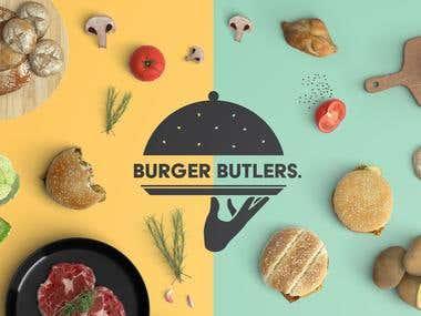 Burger Butlers Logo Design