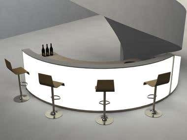 Bespoke Helical Bar (3D Rendering/Design)