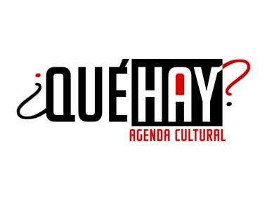 Logo Qué Hay? + icons