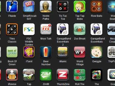 iPhone applications (Mind Riders Technology)