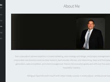 Carlos Sinde Website