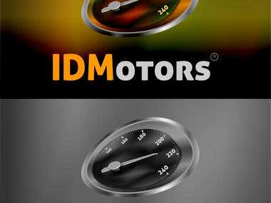 Logo Designs For IDMotors (3d web 3.0 looking)