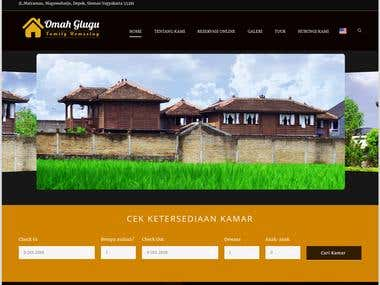 Hotel Reservation System for Omahglugu Official Website