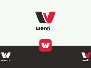 Wenti - A Book Leasing Shop Logo