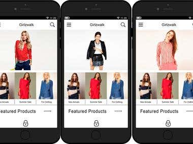 Shopping Apps With android & IOS