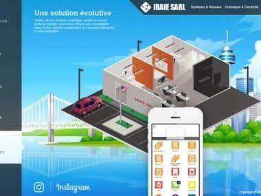 ibaie SARL – Site Internet