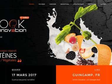 U'cook Innovation – Site Internet