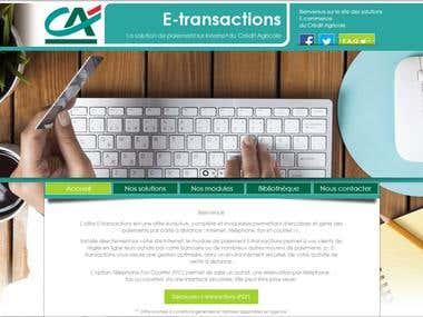 Crédit Agricole – Site Internet