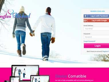 Singles Hiteched Online Dating Web with Android & IOS