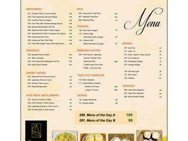 Designs for a Restaurant