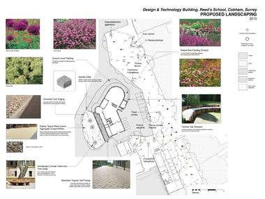 Landscape CAD plan/mood board